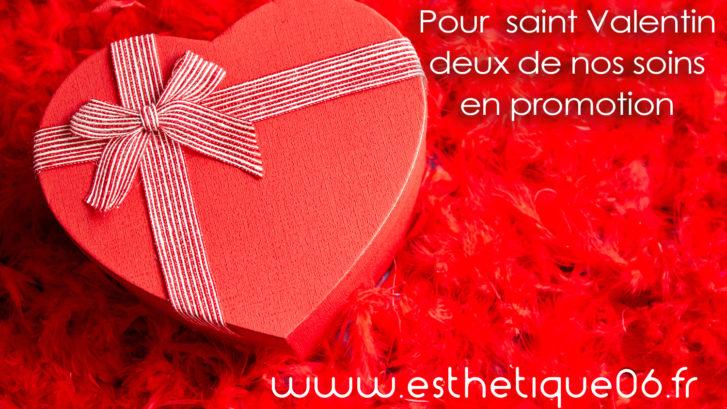 Saint Valentin : offres en médecine esthétique